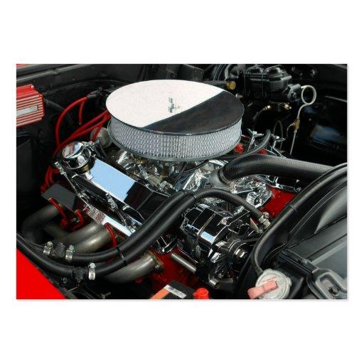 Custom Car Engine Business Card