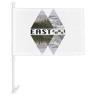 Custom Car Flag EAST COAST