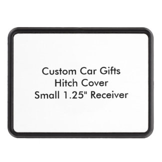 "Custom Car Gifts Hitch Cover  Small 1.25"" Receiver"