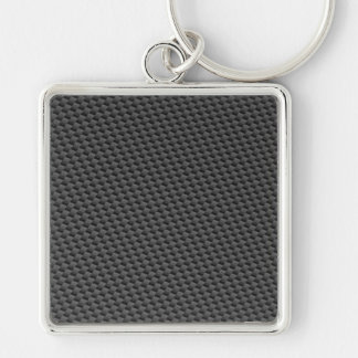 custom carbon fiber texture keychains