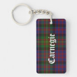 Custom Carnegie Tartan Plaid Key Chain