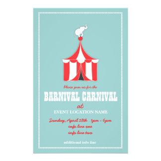 CUSTOM Carnival Event Flyer