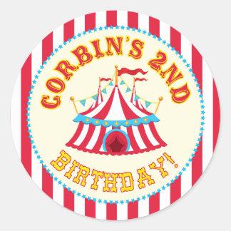 Custom Carnival Sticker with Custom name Corbin