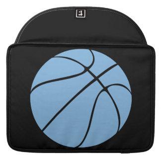 Custom Carolina Blue Basketball Laptop Sleeve