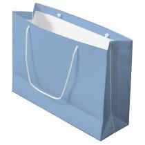 Custom Carolina Blue Gift Bag - Large, Glossy