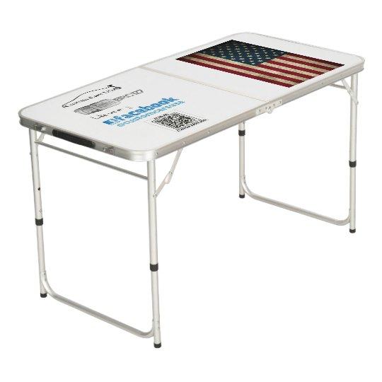 Custom Cars USA Portable Table