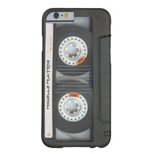 Custom Cassette Mixtape iPhone 6 Case