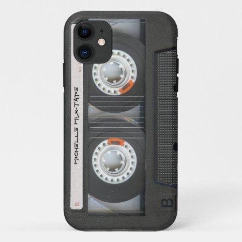 Custom Cassette Mixtape Phone Case