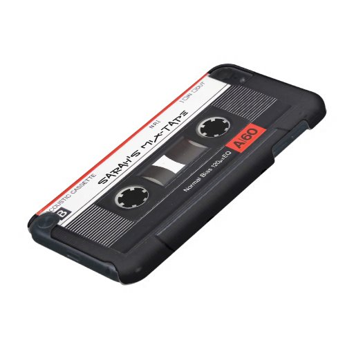 Custom Cassette Tape iPod Touch (5th Generation) Cases
