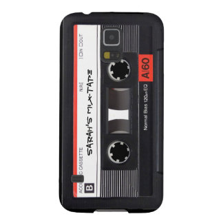 Custom Cassette Tape Galaxy S5 Case