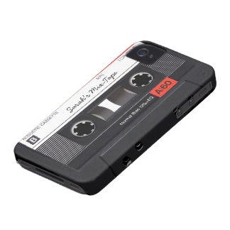 Custom Cassette Tape iPhone 4 Case