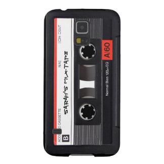 Custom Cassette Tape Galaxy S5 Covers