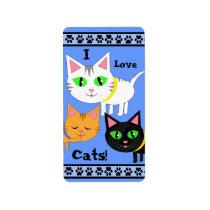 Custom Cat Lover's Sticker / Labels