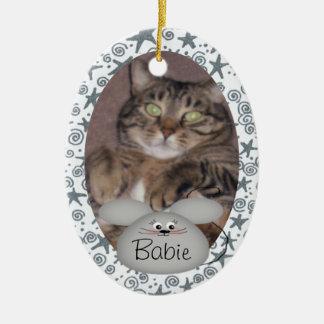 Custom Cat Photo Ornament