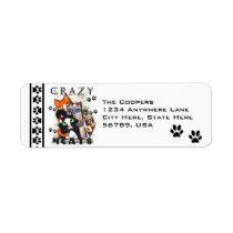 Custom Cat Return Address Labels