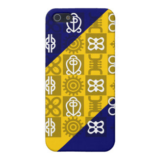 Custom cell phone covers with African symbols
