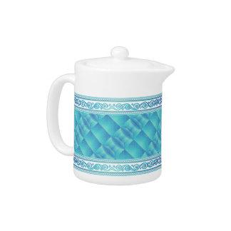 Custom Celtic Art Teapot