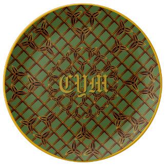 Custom Celtic Designer Plate
