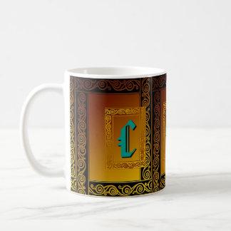 Custom Celtic Initials Mug