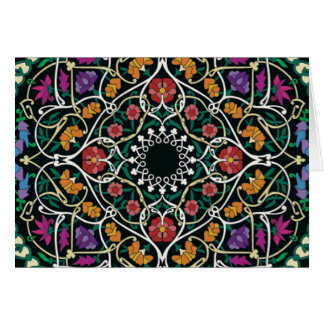 Custom Celtic Knot Abstract Design Card
