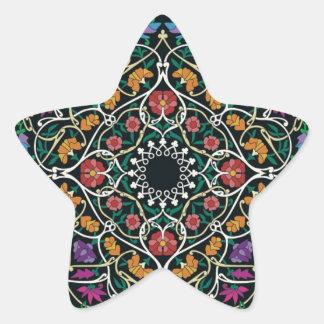 Custom Celtic Knot Abstract Design Star Sticker