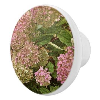 Custom Ceramic Knobs/ Hydrangea/photog/dig.manip. Ceramic Knob by whatawonderfulworld at Zazzle