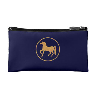 Custom Chic Year of the Horse Cosmetics Bag Makeup Bag