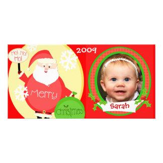 Custom Children's Christmas Santa Photo Card