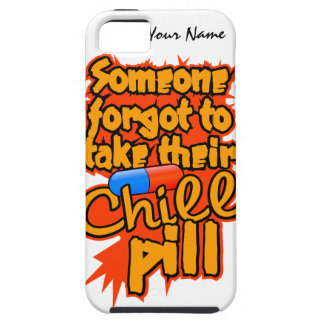 Custom Chill Pill iPhone 5 Case-Mate