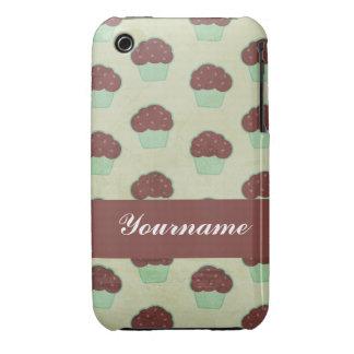 Custom Chocolate Cupcake iPhone 3 Cover