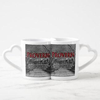 CUSTOM CHRISTIAN BIBLE VERSE PROVERBS 3:5-6 COFFEE MUG SET