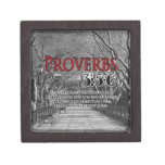 CUSTOM CHRISTIAN BIBLE VERSE PROVERBS 3:5-6 PREMIUM GIFT BOXES