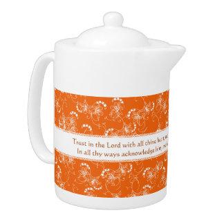 Custom Christian Gifts - Personalized Tea Pot