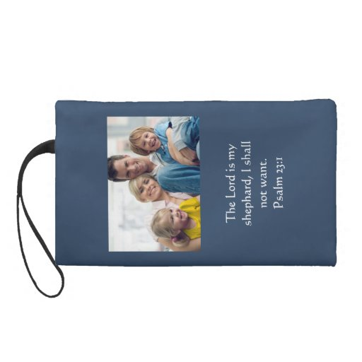 Custom Christian Gifts Photo Wristlette Wristlet Clutch