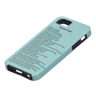 Custom Christian iPhone 5 Case with Nicene Creed