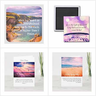 Custom Christian scriptures cards and postcards