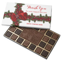 Custom christmas business year end assorted chocolates