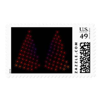 Custom Christmas Card Postage Stamp 2016