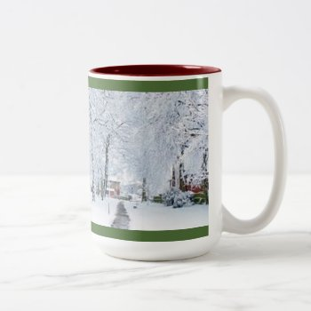 Custom Christmas Coffee Mug With Photo by creativeconceptss at Zazzle
