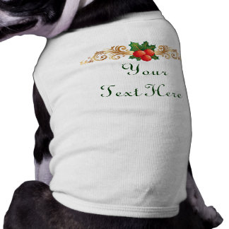 Custom Christmas Dog t-shirt