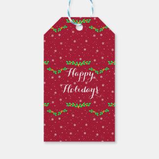 Custom Christmas Holiday Gift Tags Hang Tags