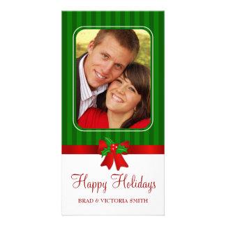 Custom Christmas Holiday Photo Cards
