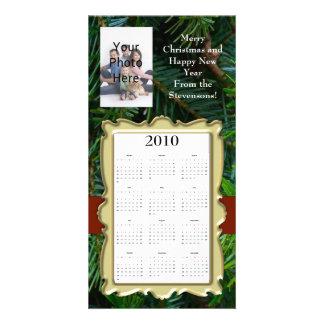 Custom Christmas/New Year Photo Card Calendar