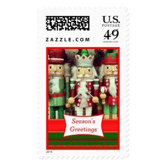 Custom Christmas Nutcracker Postage Stamp Custom