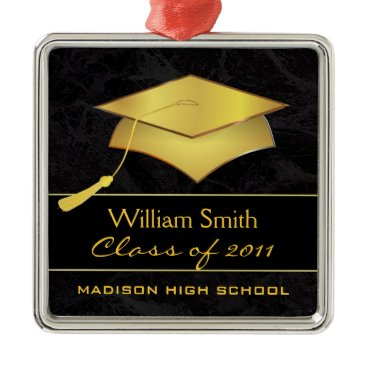 Christmas Themed Custom Christmas Ornament - Graduation Gift