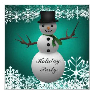 Custom Christmas Party Invitations at Zazzle