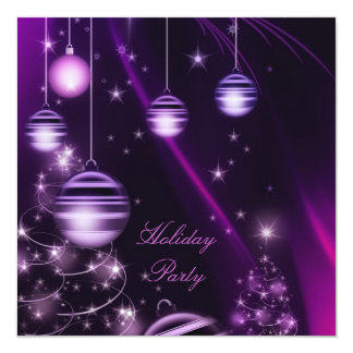 Custom Christmas Party Invitations