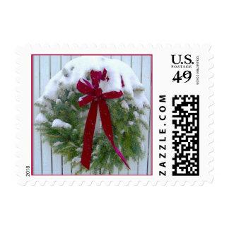 Custom Christmas Postage Stamp 2016