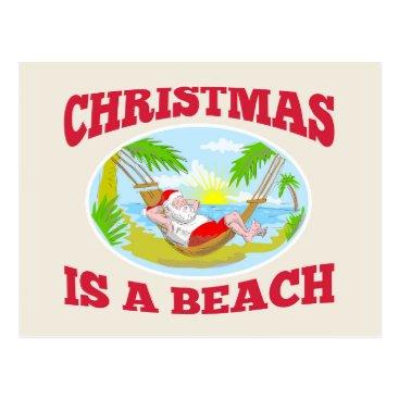 Custom Christmas Postcard