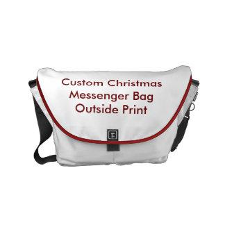 Custom Christmas Small Messenger Bag Outside Print